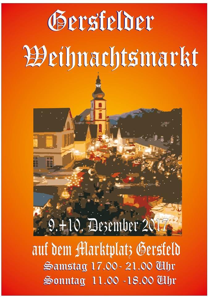 Weihnachtsmarkt in Gersfeld (Rhön)